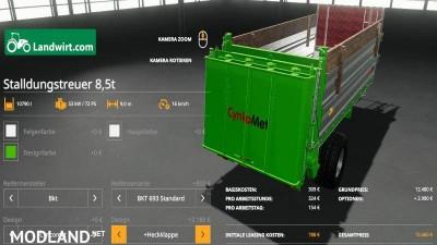 Manure spreader set 8.5t v 2.0, 2 photo